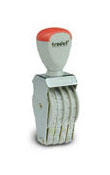 Trodat 1594 4 digit number stamp. Personalize, preview and purchase rubber stamps online. Custom rubber stamps, self-inking stamps, date stamps and more. Quick turnaround.