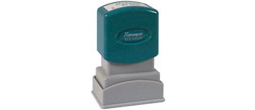 Xtamper Custom Message Stamps.  . Teller Stamps, Inspection stamps, pre inked stamps, rubber stamps.