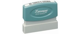 Xstamper N05 Pre Inked stamp. Personalize, preview and purchase rubber stamps online. Custom rubber stamps, self-inking stamps, date stamps and more. Quick turnaround.