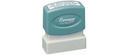Xstamper N10 Pre Inked rubber stamp. Personalize, preview and purchase rubber stamps online. Custom rubber stamps, self-inking stamps, date stamps and more. Quick turnaround.