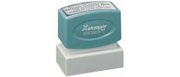 Xstamper N12 Pre Inked stamp. Personalize, preview and purchase rubber stamps online. Custom rubber stamps, self-inking stamps, date stamps and more. Quick turnaround.