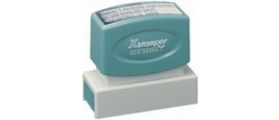 Xstamper N14 Pre Inked stamp. Personalize, preview and purchase rubber stamps online. Custom rubber stamps, self-inking stamps, date stamps and more. Quick turnaround.