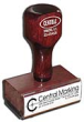 """Central Marking Syracuse NY - Traditional Rubber Stamps with wooden handles. Choose your size below and then create your custom image or message. Choose your stamp. Click """"CUSTOMIZE"""" to create your custom message."""