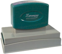 Xstamper N27 Pre Inked stamp. Personalize, preview and purchase rubber stamps online. Custom rubber stamps, self-inking stamps, date stamps and more. Quick turnaround.